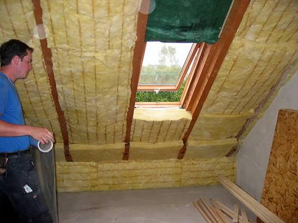 Holzbau willinger zellulosed mmung innenausbau for Fachwerkwand innen